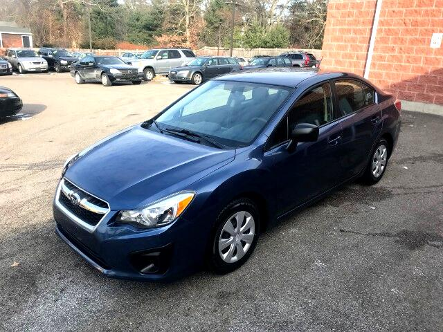 2012 Subaru Impreza 4 door sedan All Wheel Drive