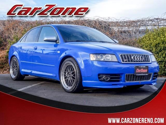 2005 Audi S4 Sport Sedan with Tiptronic