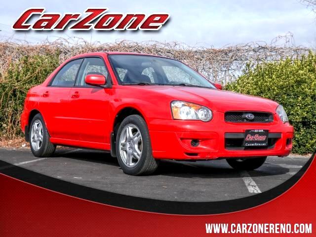 2004 Subaru Impreza 2.5 RS