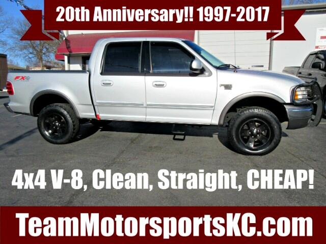 "2003 Ford F-150 4WD SuperCrew 150"" FX4"