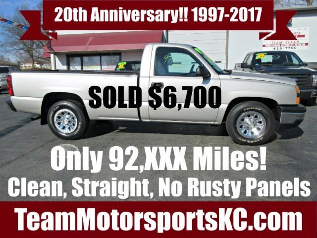 2006 Chevrolet Silverado 1500 Work Truck Long Bed 2WD