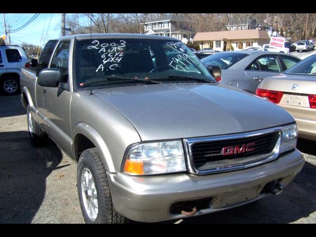 2003 GMC Sonoma SL Ext. Cab 4WD
