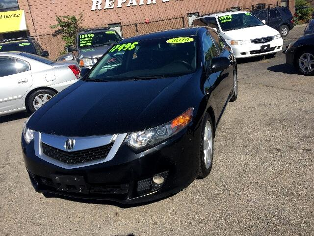2010 Acura TSX 6-speed MT