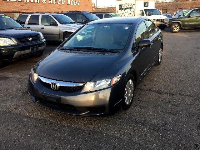 2009 Honda Civic DX-VP Sedan 5-Speed MT