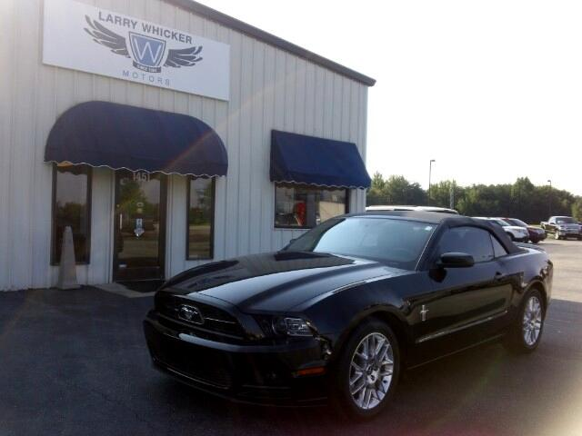 2014 Ford Mustang V6 Premium Pony Package Convertible