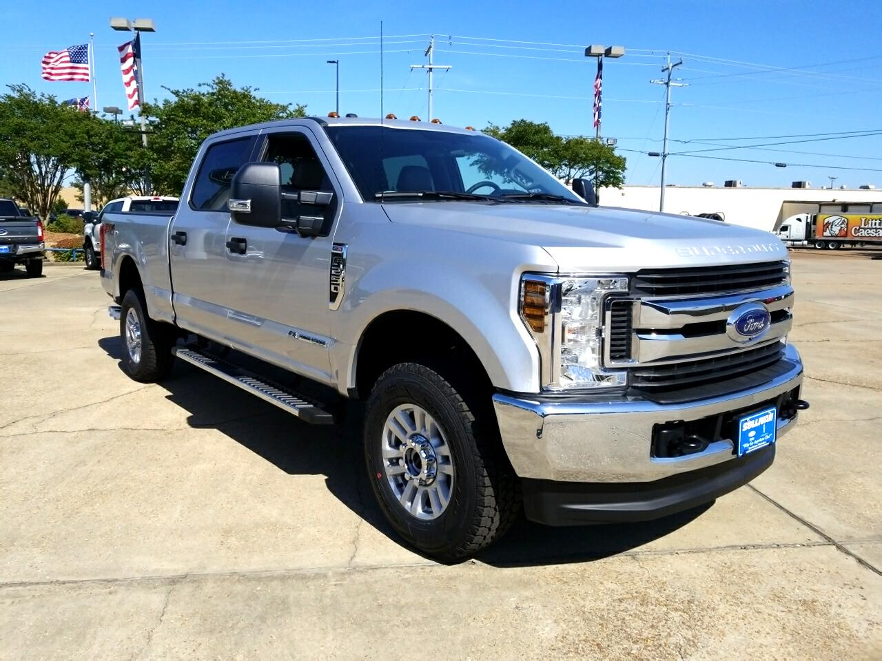 2018 Ford F-250 SD XL Crew Cab 4WD
