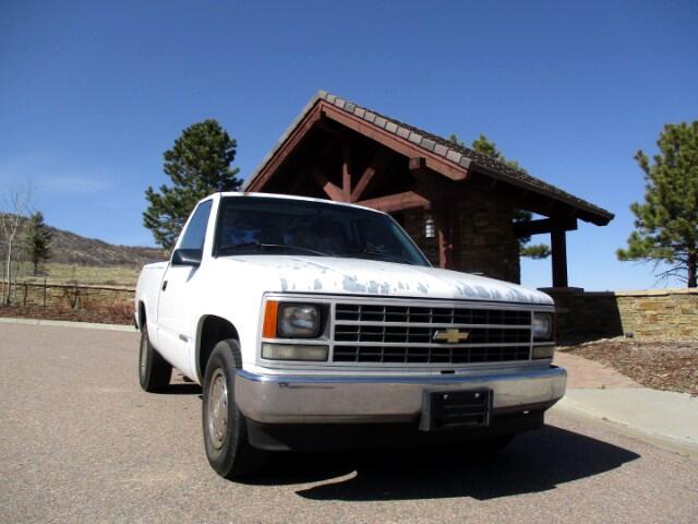 1990 Chevrolet C/K 1500 Reg. Cab W/T 8-ft. bed 2WD