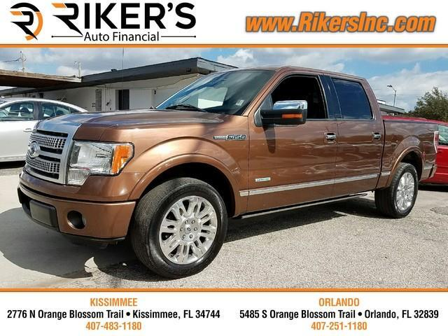 2011 Ford F-150 Platinum SuperCrew 6.5-ft. Bed 2WD