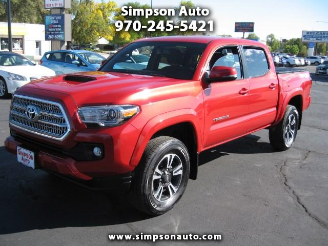 2016 Toyota Tacoma 4WD DOUBLE CAB SPORT
