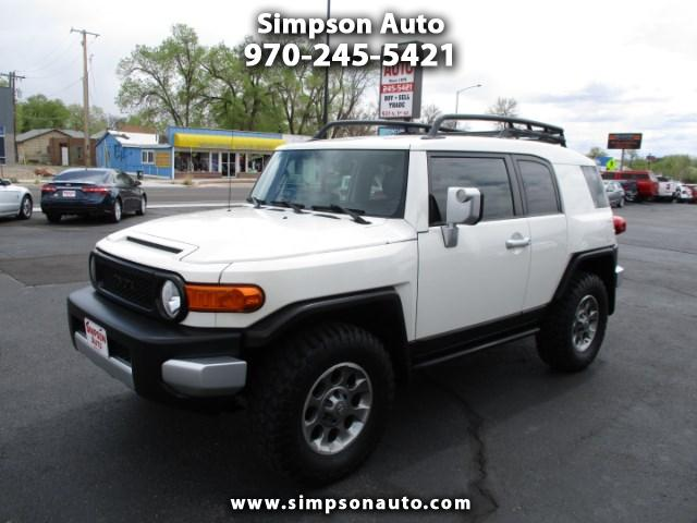 2013 Toyota FJ Cruiser 4WD AT