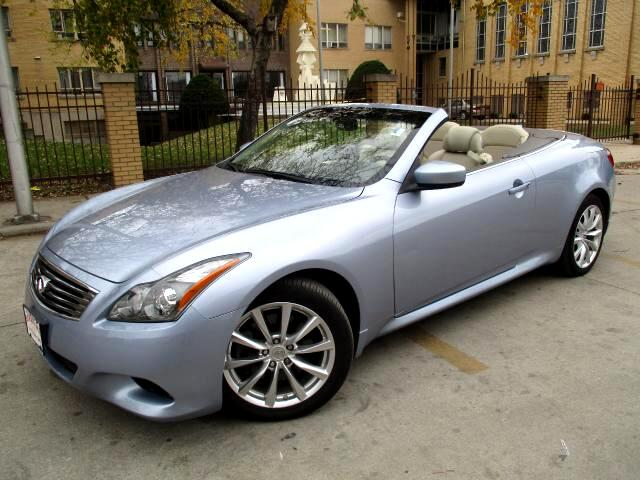 2011 Infiniti G Convertible Limited Edition