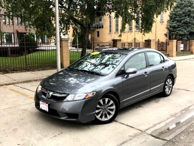 2011 Honda Civic EX Sedan 5-Speed AT