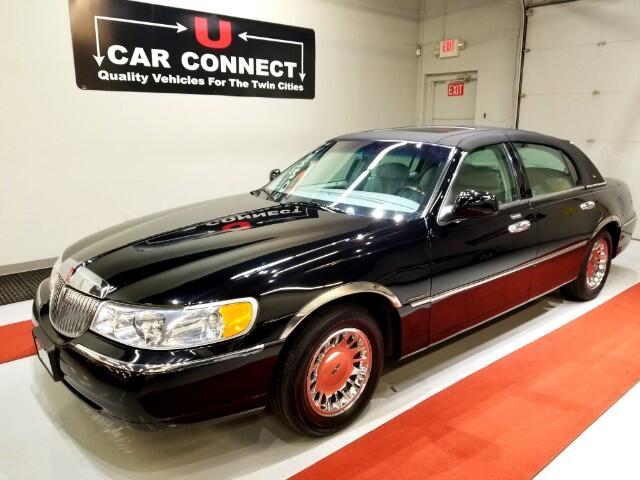 2001 Lincoln Town Car Cartier