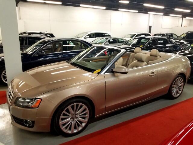 2010 Audi A5 Cabriolet 2.0T FrontTrak Multitronic