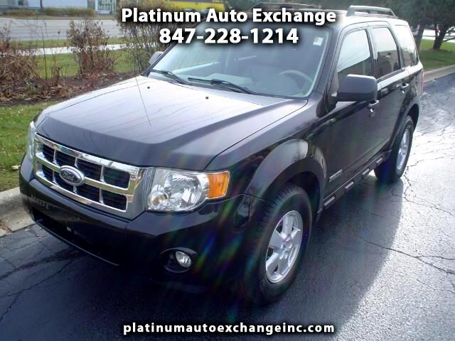 2008 Ford Escape XLT With Leather and Sunroof