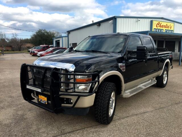 2010 Ford F-250 SD King Ranch Crew Cab Long Bed 4WD