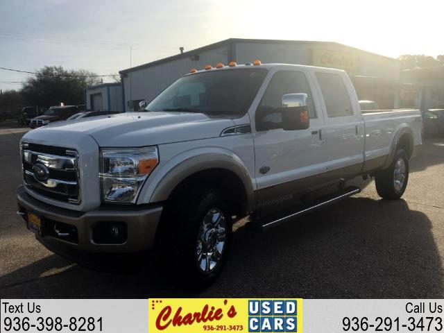2013 Ford F-350 SD King Ranch Crew Cab Long Bed 4WD