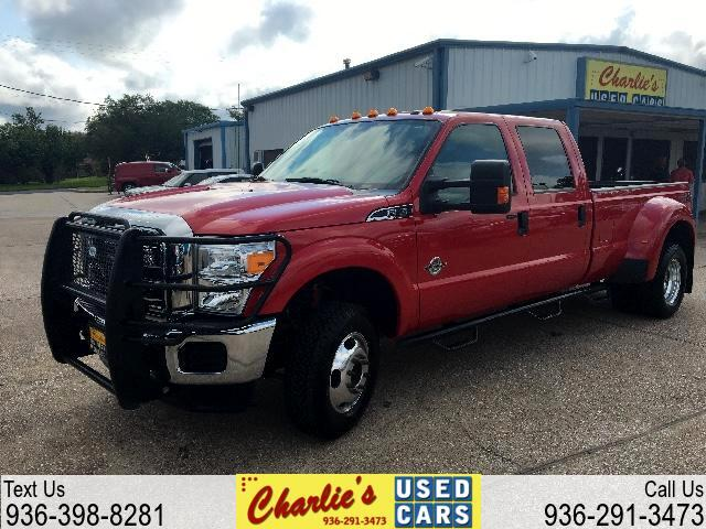 2015 Ford F-350 SD XLT Crew Cab Long Bed DRW 4WD