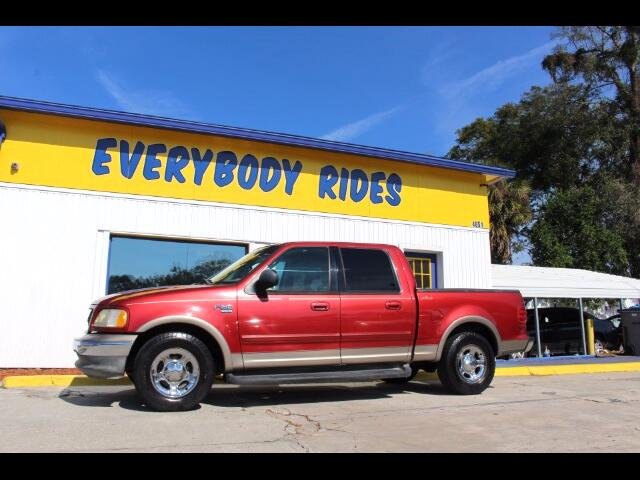 2002 Ford F-150 Lariat SuperCrew Short Bed 2WD
