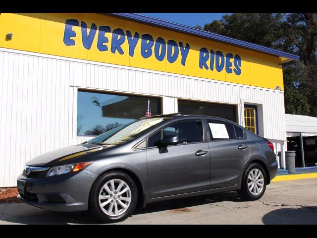 2012 Honda Civic EX Sedan 5-Speed AT