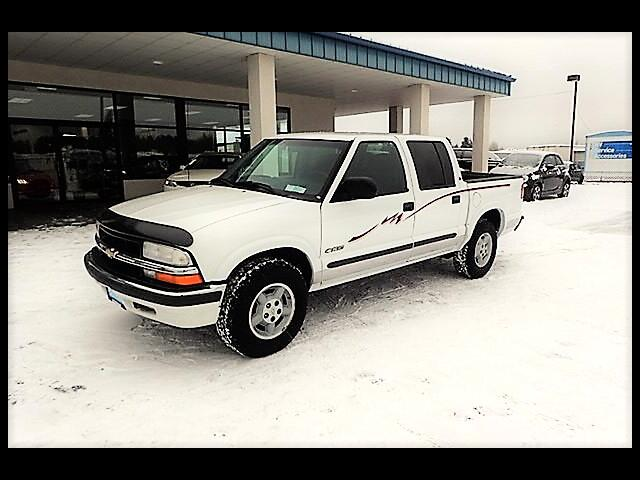 2001 Chevrolet S10 Pickup LS Crew Cab 4WD
