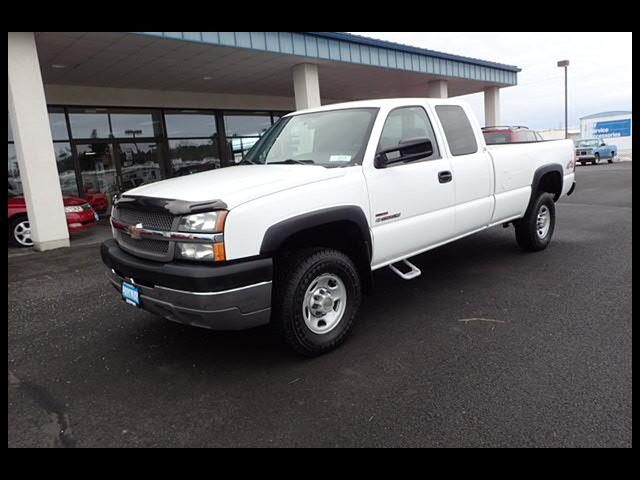 2004 Chevrolet Silverado 2500HD Work Truck Ext Cab TURBO DIESEL