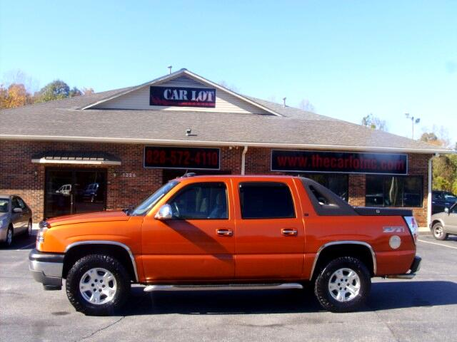 used 2005 chevrolet avalanche for sale in lenoir nc 28645 the car lot of lenoir. Black Bedroom Furniture Sets. Home Design Ideas