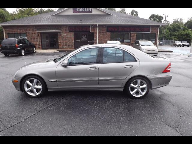 2004 Mercedes-Benz C-Class C320 Sport Sedan