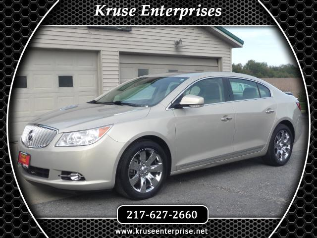 2012 Buick LaCrosse Premium Package 3, w/Leather