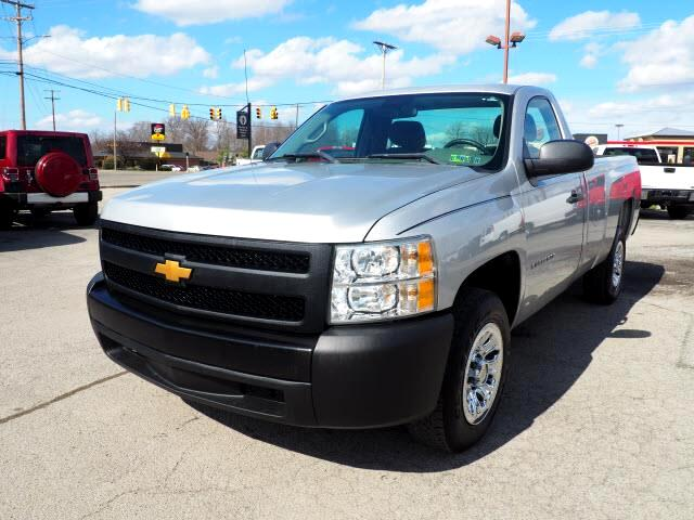 2011 Chevrolet Silverado 1500 Work Truck 1WT Regular Cab Long Box 2WD