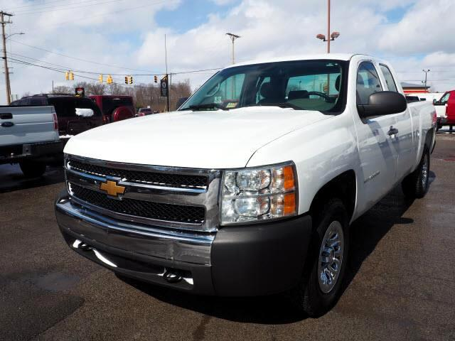 2013 Chevrolet Silverado 1500 Work Truck Ext. Cab Short Bed 4WD