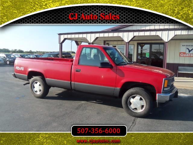 1996 Chevrolet C/K 1500 Reg. Cab W/T 6.5-ft. Bed 4WD