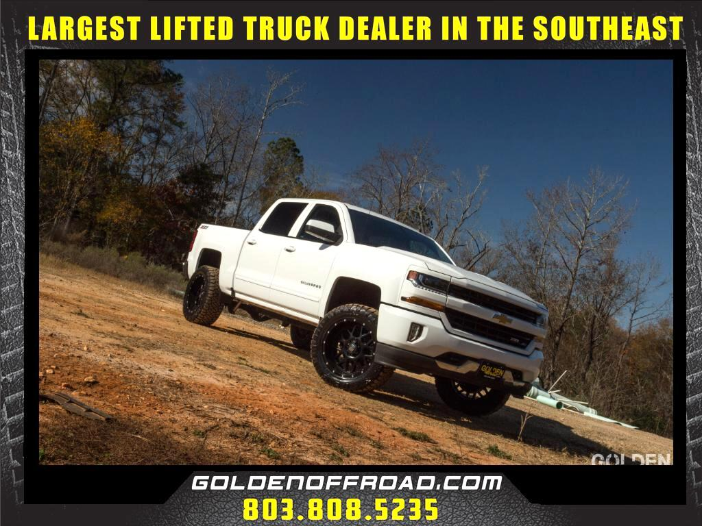 2016 Chevrolet Silverado 1500 LT Z71 CrewCab 4WD 3.5In LIFTED XD Nitto
