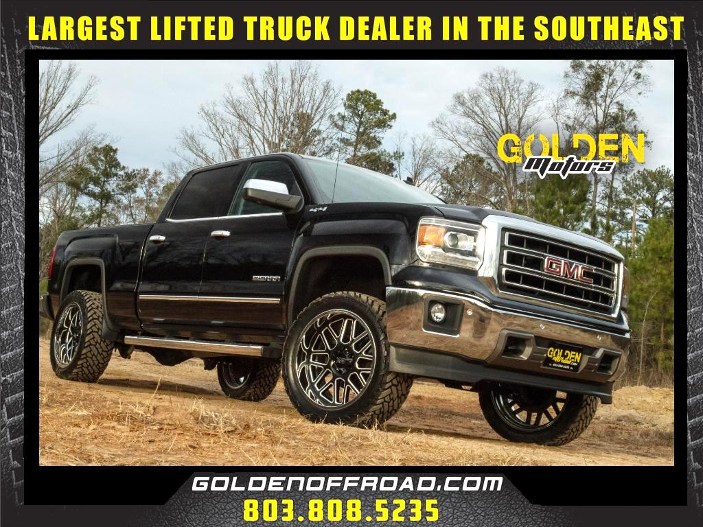 2014 GMC Sierra 1500 SLT CrewCab Long Bed 4WD 3.5In LIFTED XD Fuel