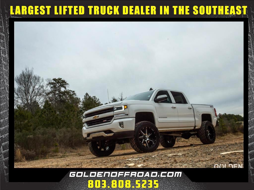2016 Chevrolet Silverado 1500 LT Z71 CrewCab 4WD LIFTED 7in Fuel Hostile