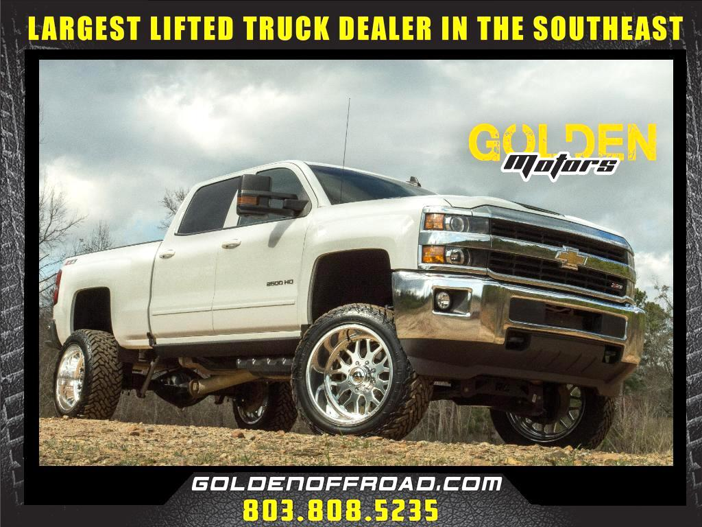 2017 Chevrolet Silverado 2500HD LT Z71 Crew Cab 4WD Duramax 7.5 In. Lifted Fuel