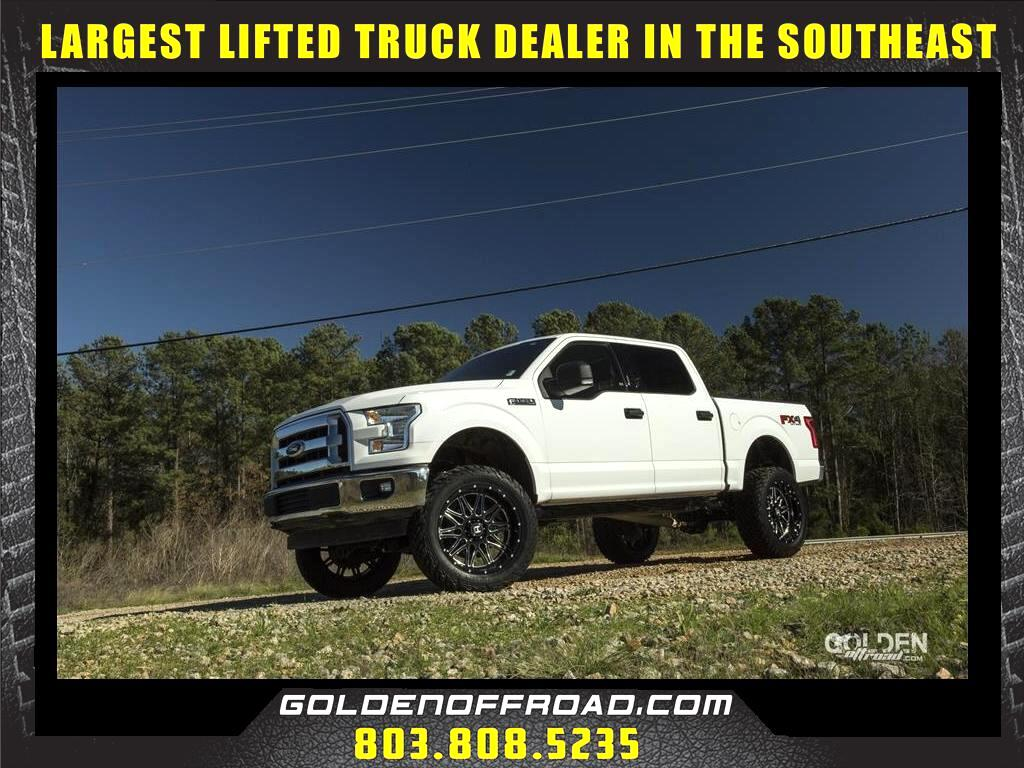 2017 Ford F-150 XLT Super Crew 4WD 3 Inch Lifted Hostile Fuel