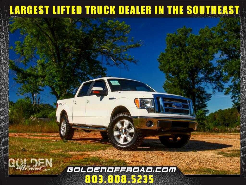 2009 Ford F-150 LARIAT SUPERCREW 4WD LIFTED/LEVELED 33