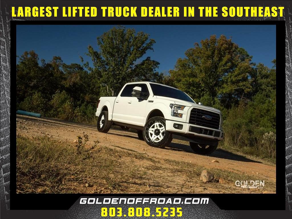 2016 Ford F-150 XLT Super Crew Lifted Fuel Off Road Amp Steps Leat