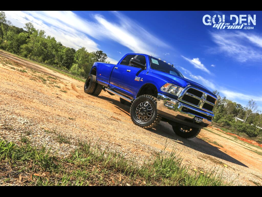 2016 RAM 3500 SLT 4WD 5 Inch Lift Eagle 20's Rare Color 35 MT's