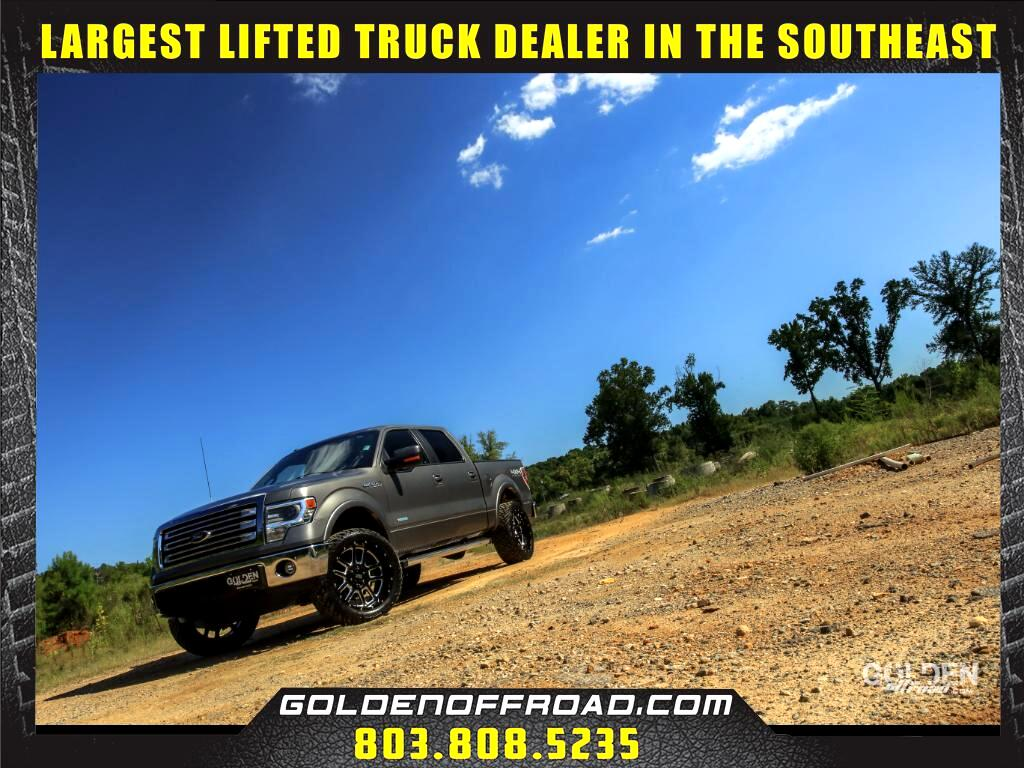 2013 Ford F-150 Lariat Super Crew 4WD Lifted XD Wheels Fuel Offroa