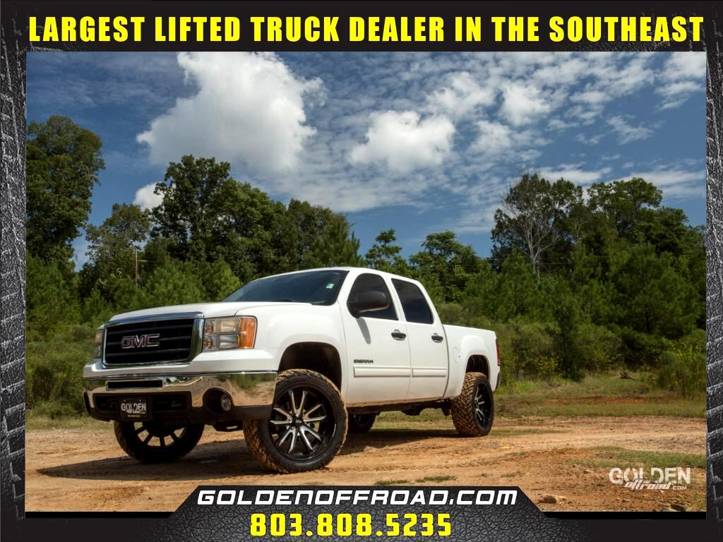 2011 GMC Sierra 1500 SLE Crew Cab 4WD Lifted Moto Metal Wheels Fuel M/T