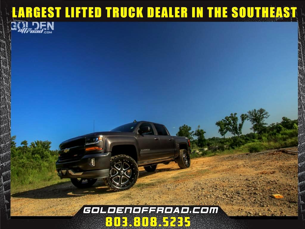 2016 Chevrolet Silverado 1500 LT Z71 Crew Cab 4WD Lifted Hostile Wheels Amp M/T'