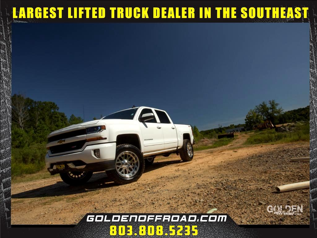 2016 Chevrolet Silverado 1500 LT Z71 Crew Cab 4WD Lifted Fuel Wheels
