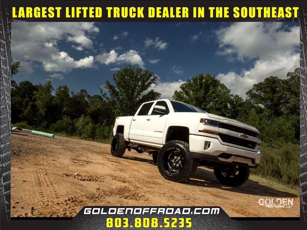 2017 Chevrolet Silverado 1500 LT Z71 Crew Cab 4WD Lifted Fuel Wheels MXT's