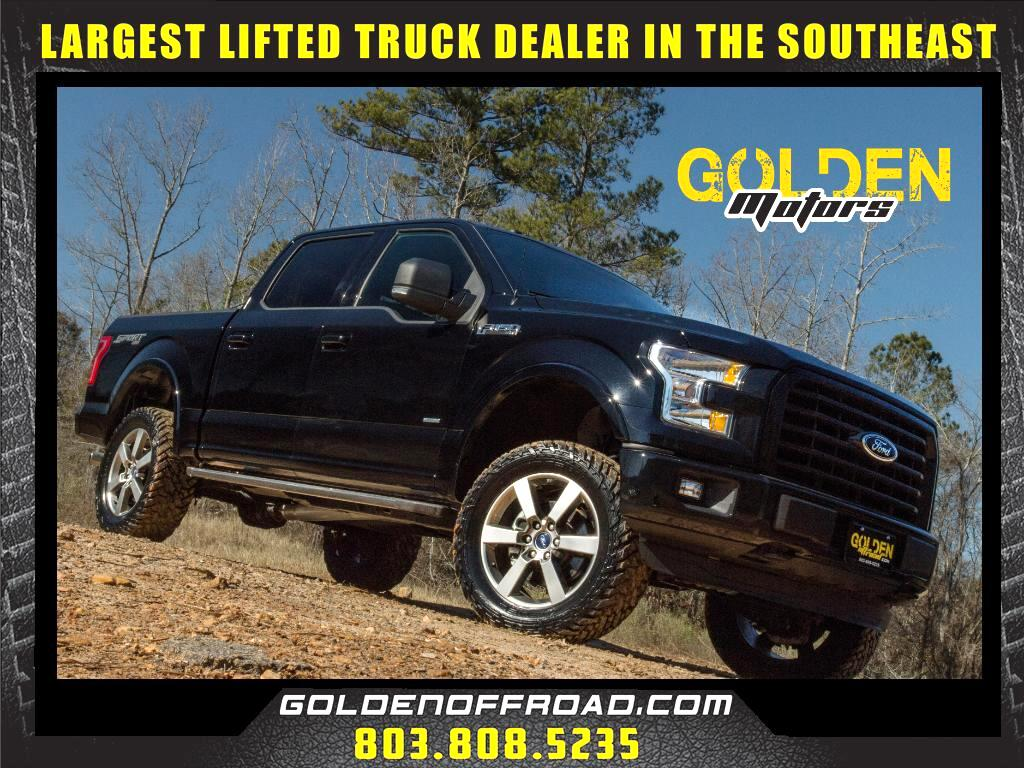 2016 Ford F-150 XLT Sport 4WD LIFTED FUEL M/T's