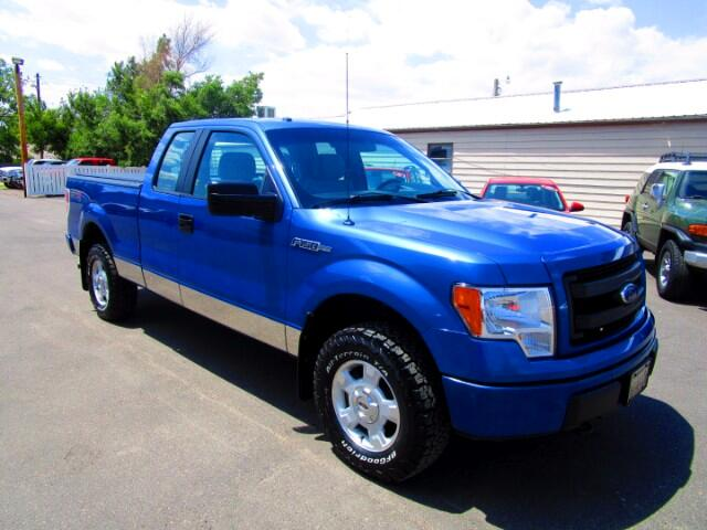 2014 Ford F-150 STX SuperCab 5.5 ft Bed 4WD