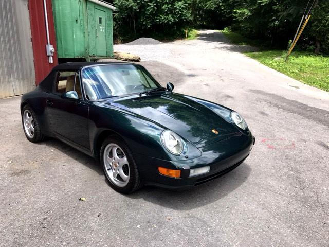 1997 Porsche 911 2dr Cabriolet Carrera