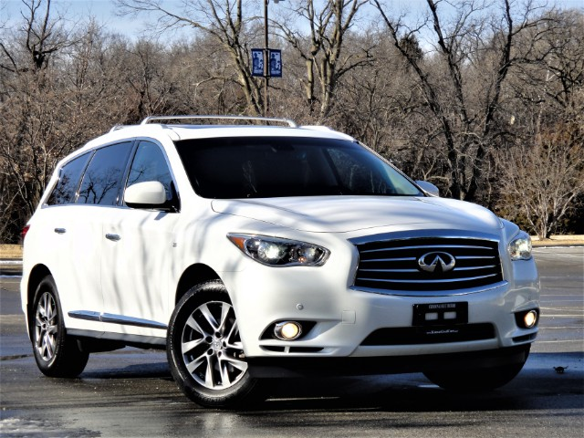 2014 Infiniti QX60 AWD With Navigation And Factory DVD Entertainment