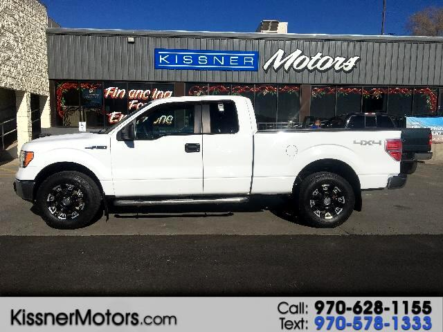 2010 Ford F-150 SuperCab Short Bed 4WD